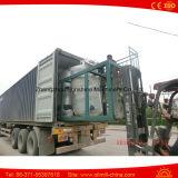 raffinerie de pétrole brut de machine de raffinerie de l'huile de soja 2t/D mini
