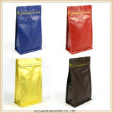 Пластичный и прозрачный мешок пакета кофеего/черный Ziplock мешок кофейного зерна