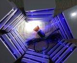 Système solaire de trois de DEL d'ampoules de batterie au lithium nécessaires d'éclairage