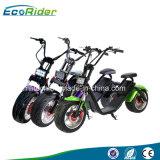 쉬운 분리가능한 건전지 팩을%s 가진 60V 1200W 큰 전기 Harley 스쿠터 Citycoco