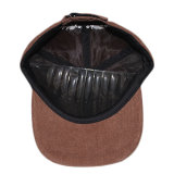 Sombrero de encargo del casquillo del panel de la pana 5 del bordado de los niños