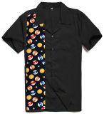Camicia hawaiana di Rockabilly di anni '50 di stile vestiti americani all'ingrosso dell'annata dei retro