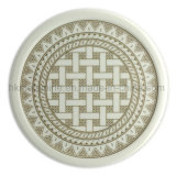 Round Melamine Coaster with Logo (PT7108)