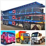 Кровати Axle 200 тонн трейлер Multi низкой сверхмощный Semi