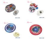 Pin modificado para requisitos particulares fábrica de la solapa de la divisa de la insignia del metal del esmalte