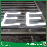 Segni esterni del contenitore chiaro di resina del LED Expoy per fare pubblicità