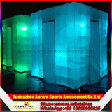 휴대용 LED 사진 부스 천막 판매를 위한 팽창식 사진 부스