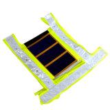 Seguridad reflexiva del producto de la energía solar/chaleco que se calienta con la célula solar