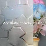Fabricantes decorativos de vidrio con burbujas y vidrios dobles