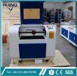 Precio de madera R-1390 de la cortadora del laser del acrílico de la tela del rinoceronte