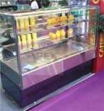 Koelere Showcase van de Vertoning van de Cake van de hoge snelheid de Koel voor Supermarkt