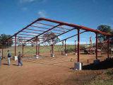 Сарай гаража укрытия сени структуры стальной рамки