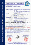 Incinérateur pour usine de traitement des déchets avec ce certificat
