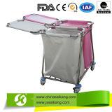 洗濯(CE/FDA/ISO)のための病院の固体リネントロリー