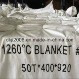 Couverture anti-calorique de fibre en céramique d'isolation pour la chaudière industrielle