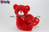 Peluche personalizada Bear Toy de Big Red Heart como Engagement Gifts ou Wedding Gifts