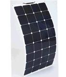 Traitement du découpage flexible personnalisé de pile solaire de Sunpower du panneau solaire 100W