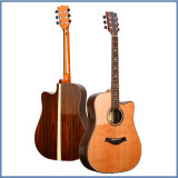 Soild Rosswood Body Guitar Acoustic con calidad superior