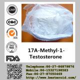 Высокое Purity Anabolic Steroid 17A-Methyl-1-Testosterone для Bodybuilding (CAS: 65-04-3)