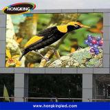 2016 pantallas al aire libre del anuncio publicitario LED de los productos calientes P10 Digitaces