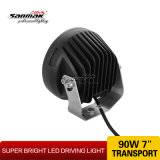 CREE Hot Headlight Offoad Driving Light do diodo emissor de luz 7inch 9 (SM6062-90A)