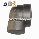 As peças forjadas do aço do ferro feito do OEM que forjam com aberto morrem o processo da forja