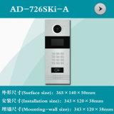 Interpréteur de commandes interactif visuel de téléphone de porte avec le bouton de Digitals (AD-726SKI-A)