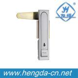 Замок плоскости кнопка квадрата шкафа замка кнопка шкафа с ключом (YH9576)