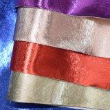 Couro de couro sintético do saco da bolsa do plutônio do teste padrão da grão da pele do rato