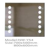 Новое зеркало ванной комнаты конструкции СИД ясное алюминиевое светлое