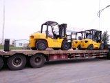ディーゼルフォークリフト7つのトンのフォークリフトの価格/6つの車輪の運搬機