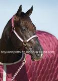 wasserdichter Unterhalt-warme rosafarbene Pferden-Wolldecke des Winter-600d