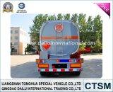 SGS ISO CCC Certificado 47cbm de acero al carbono de petrolero de gasolina / combustible Remolque