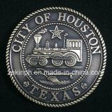 Moneta di oro su ordine professionale dell'oggetto d'antiquariato del metallo