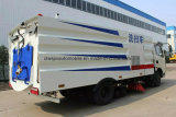 Camion de rue de balayeuse de vide de roues de Dongfeng 6