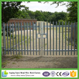 Hot DIP Galvanized W-Section Steel Palisade Fence