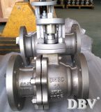 Alloy Ss904L Flunhada Trunnion Montada bola Valve