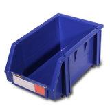 Os escaninhos da picareta do armazenamento, plástico Stackable do armazém parte os escaninhos de armazenamento (PK002)
