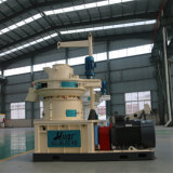 La pallina di legno della segatura della biomassa fa la macchina