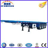 세륨 CCC 세 배 차축 40FT 평상형 트레일러 콘테이너 트럭 트레일러