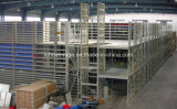 Heavy Duty Estrutura Aço Plataforma Piso Mezanino para Armazenamento Warehouse
