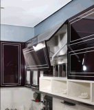 2016年のWelbom高いGossのアクリルの食器棚