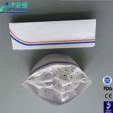 China Plant Direct Supply Disposable Forage Paper Hats con Colorful Strip