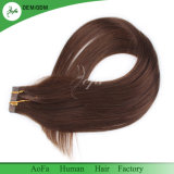 Cabelo brasileiro de Remy do cabelo não processado de Wefted da fita da qualidade