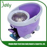 Espanador fácil mágico 360 da cubeta do dobro do líquido de limpeza do assoalho