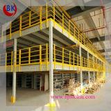 Installation rápido Heavy Metal Mezzanine Rack para Warehouse Storage