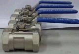 Válvula de esfera rosqueada 1PC Q11f-16p (DN15~DN80)