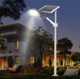 Painel solar ajustável de 15W Forte semi-integrado luz de rua solar