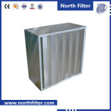 HEPA Filter voor Air Cleaning met v-Bank