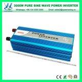 3000W DC24V AC220/240Vの純粋な正弦高周波力インバーター(QW-P3000)